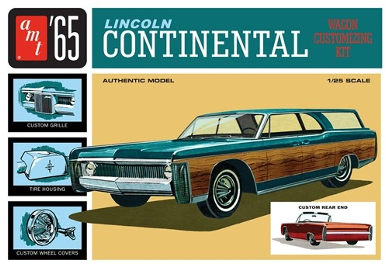 AMT-1081  1/25 1965 Lincoln Continental