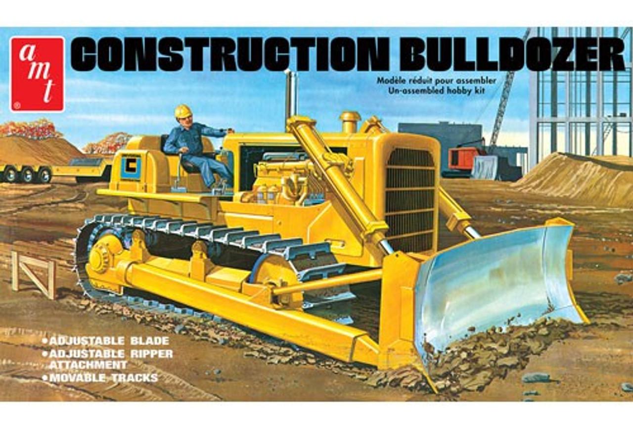 AMT-1086  1/25 Construction Bulldozer
