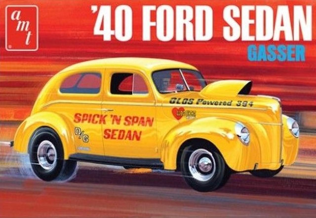 AMT-1088  1/25 1940 Ford Sedan