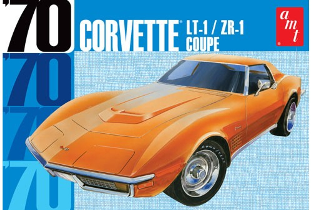 AMT-1097  1/25 1970 Chevy Corvette Coupe