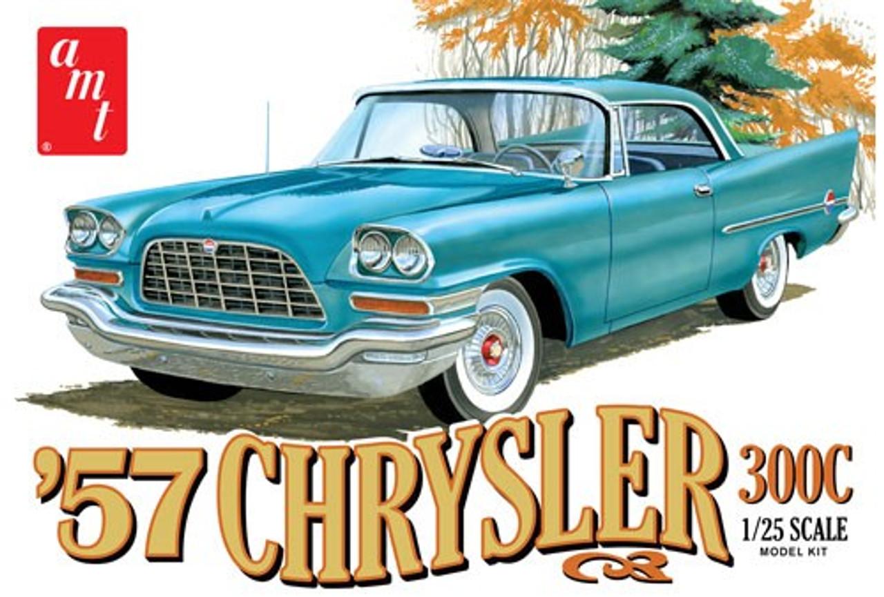 AMT-1100  1/25 1957 Chrysler 300 Car