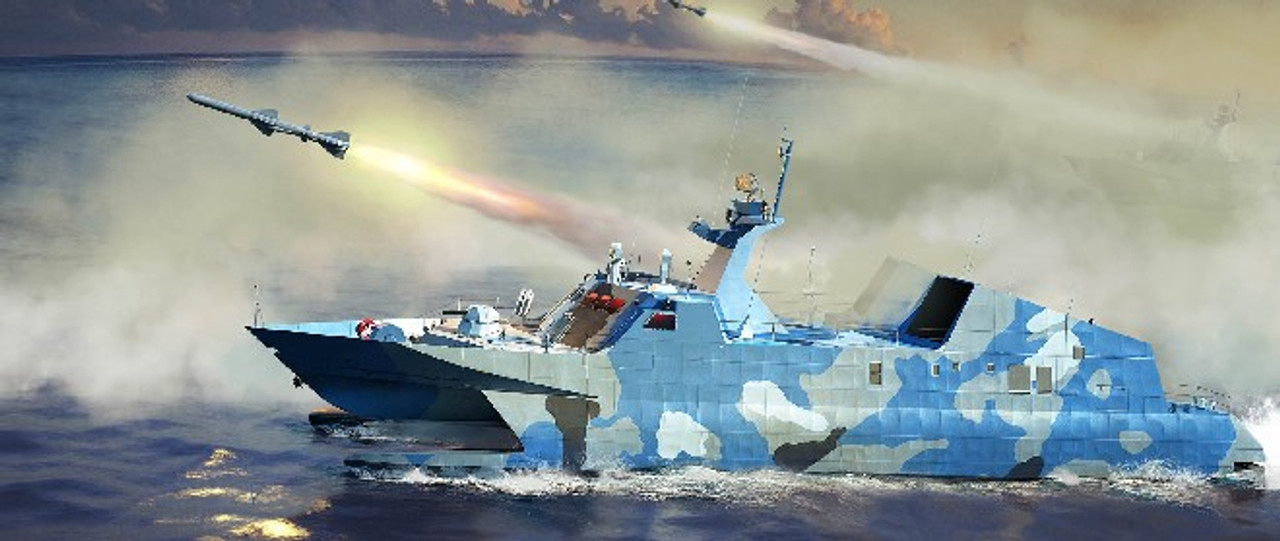 1/144 PLA Chinese Navy Type 22 Missile Boat
