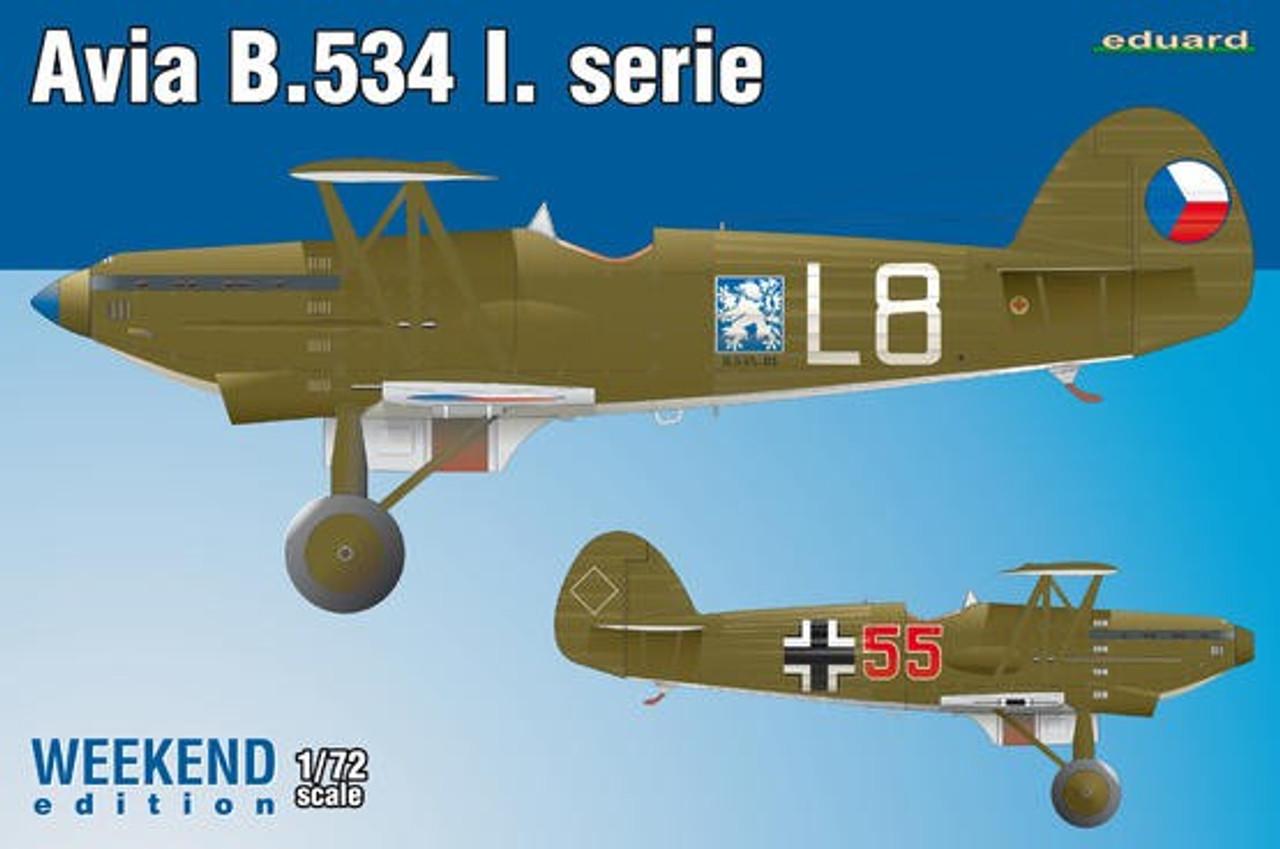 1/72 Avia B534 I Serie Aircraft (Wkd Edition Plastic Kit)
