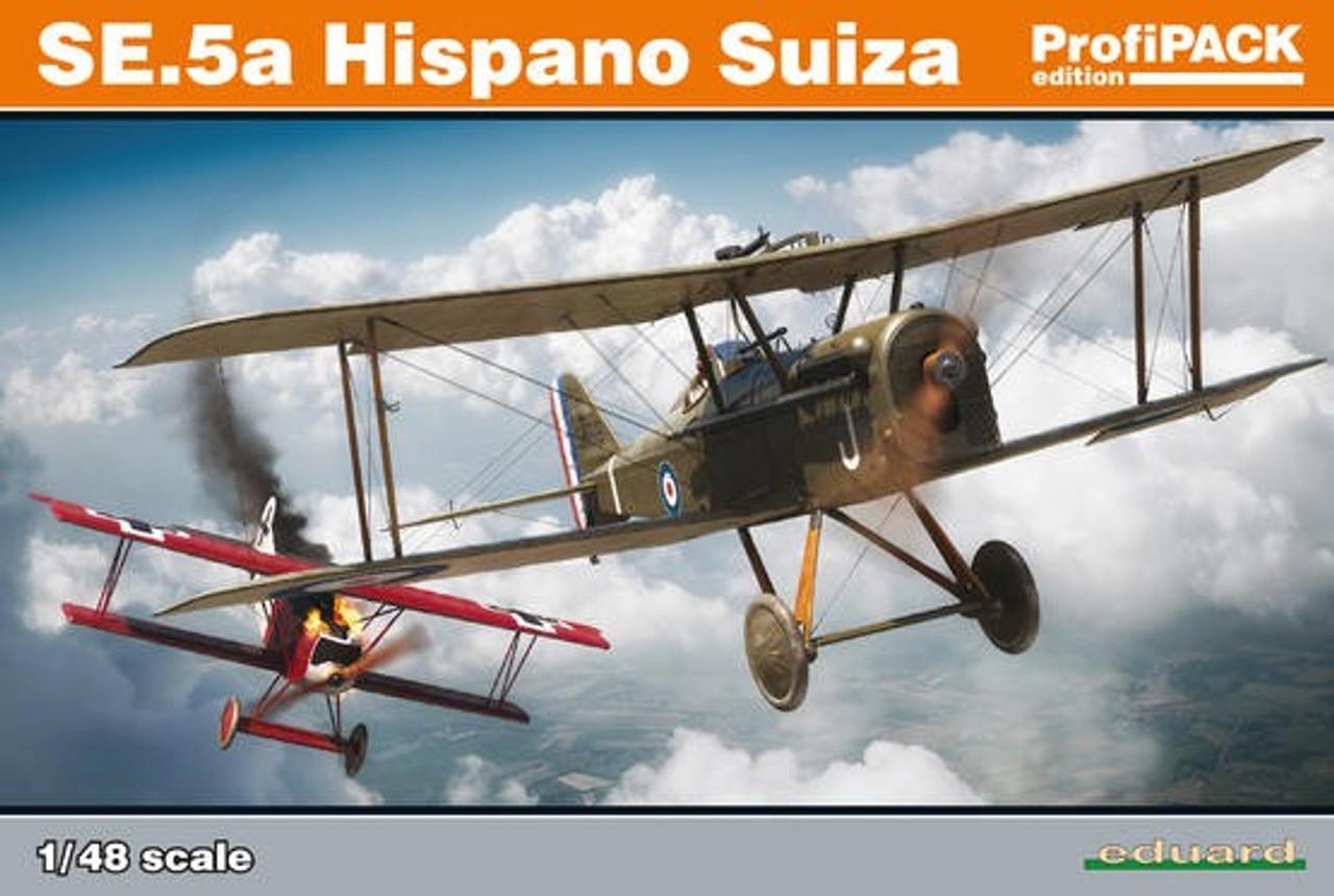 1/48 SE5a Hispano Suiza Aircraft (Profi-Pack Plastic Kit)