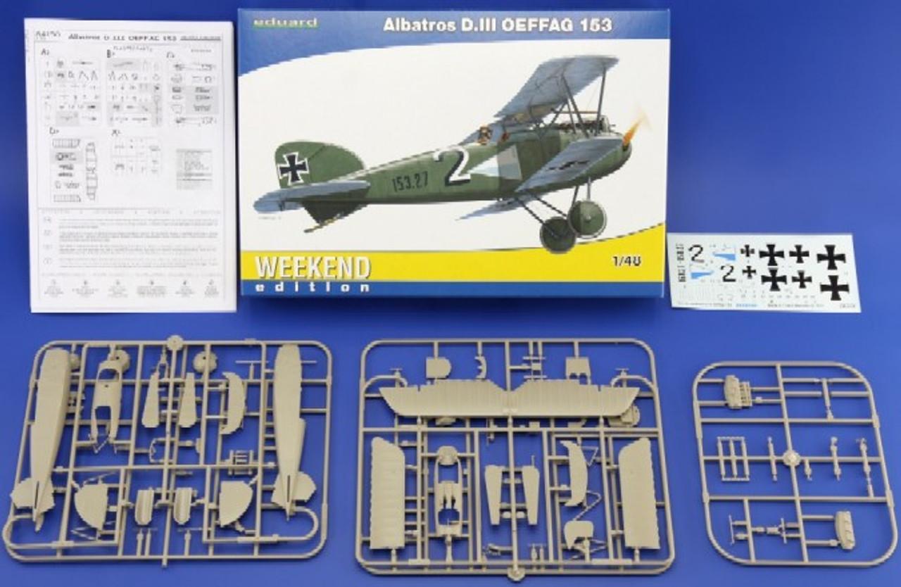 1/48 Albatros D III OEFFAG 153 Aircraft (Wkd Edition Plastic Kit)