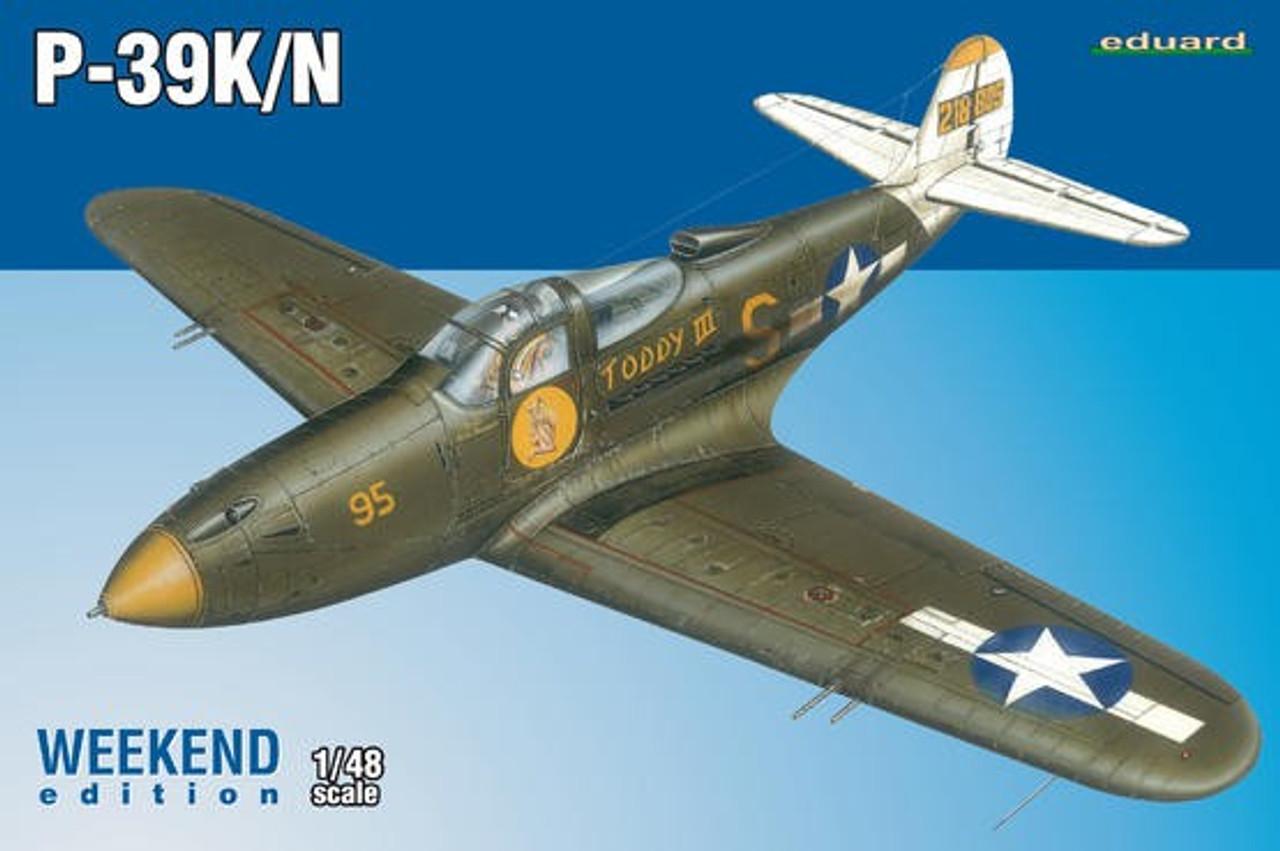1/48 P39K/N Airacobra Aircraft (Wkd Edition Plastic Kit)