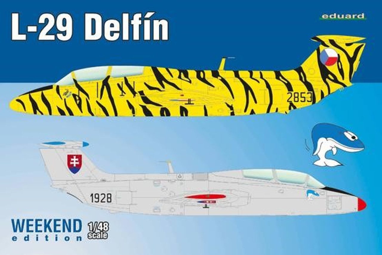1/48 L29 Delfin Aircraft (Weekend Edition Plastic Kit)