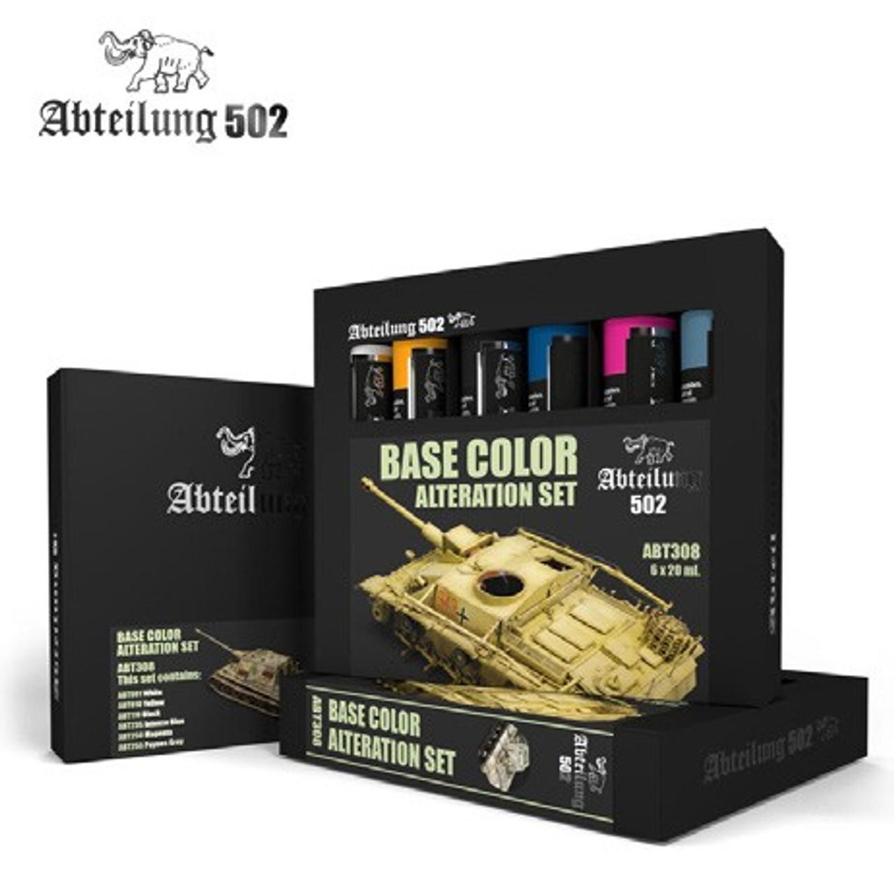 Base Color Alteration Oil Paint Set (6 Colors) 20ml Tubes