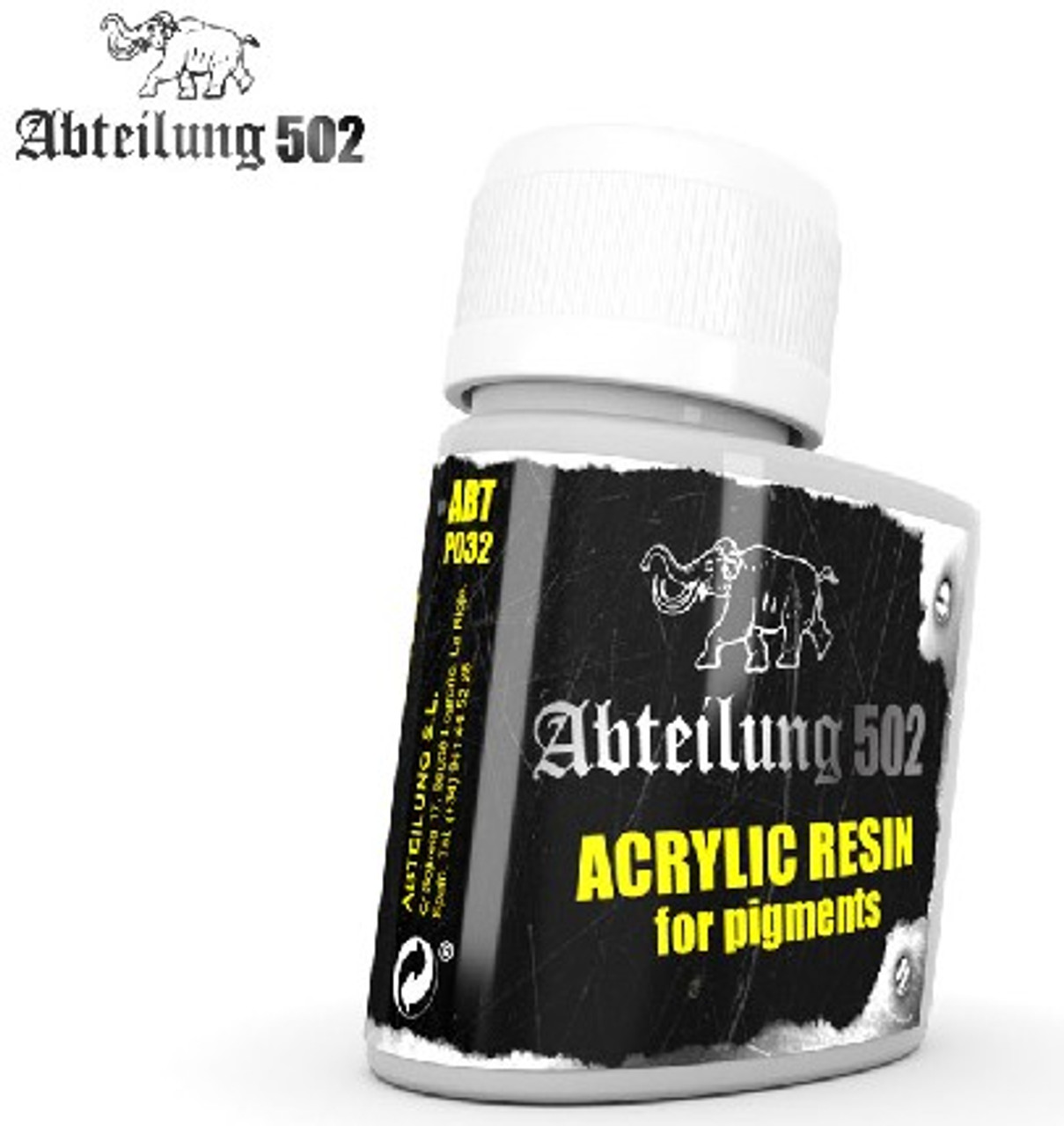 Acrylic Resin for Pigments 75ml Bottle