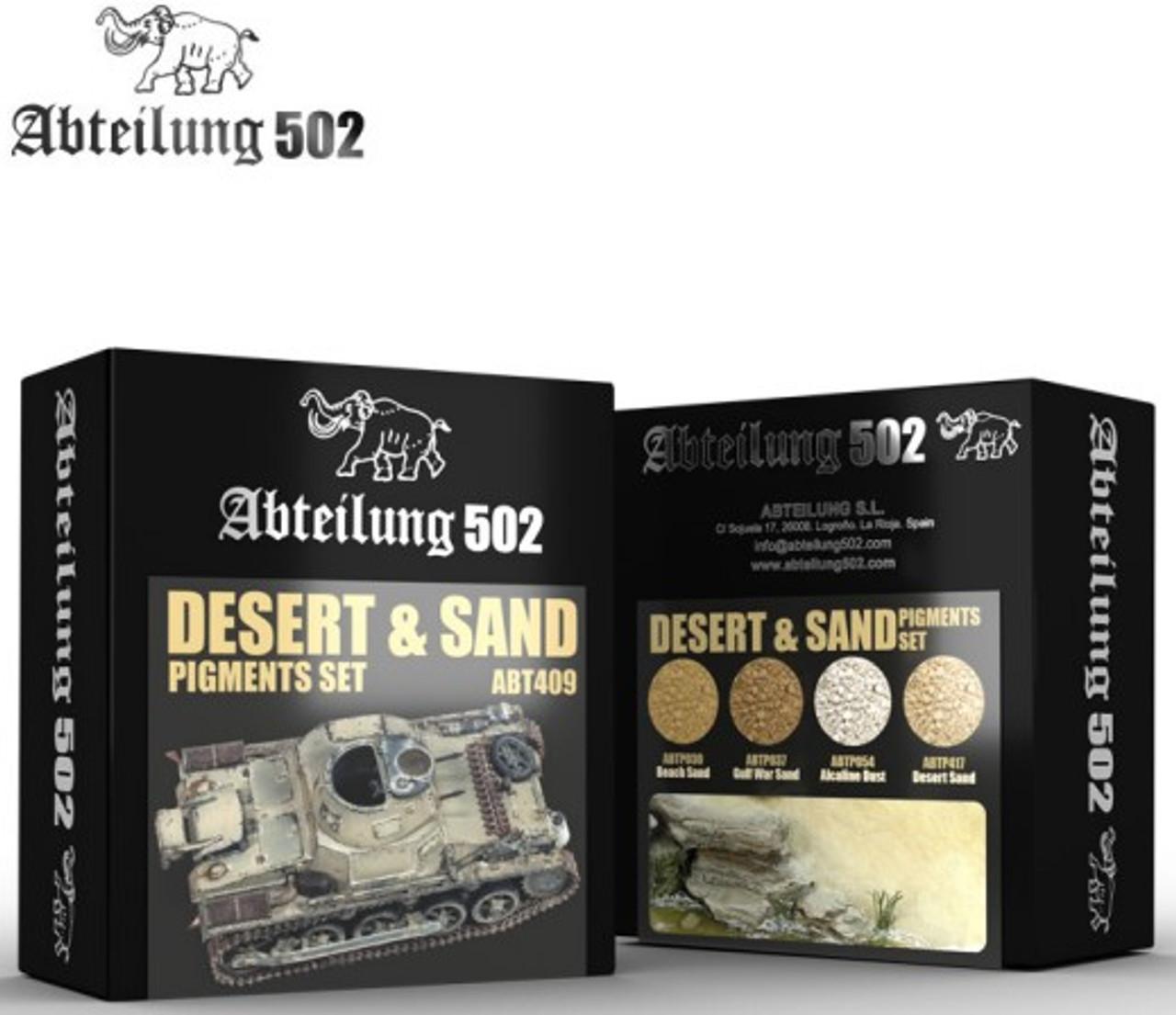 Desert & Sand Pigment Set (4 Colors) 20ml Bottles