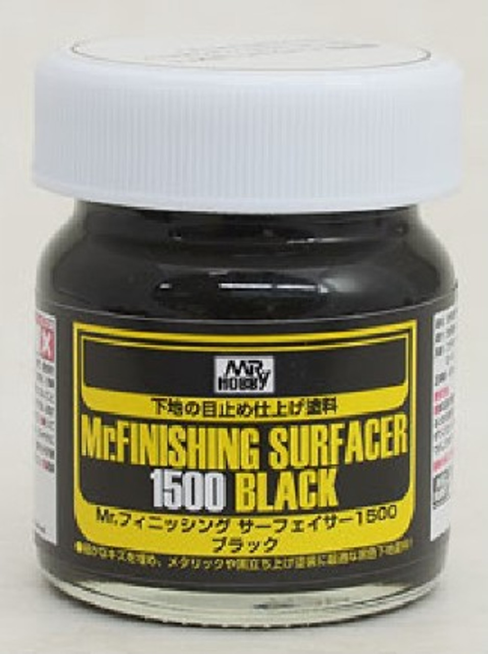 Mr. Finishing Surfacer 1500 Black 40ml Bottle