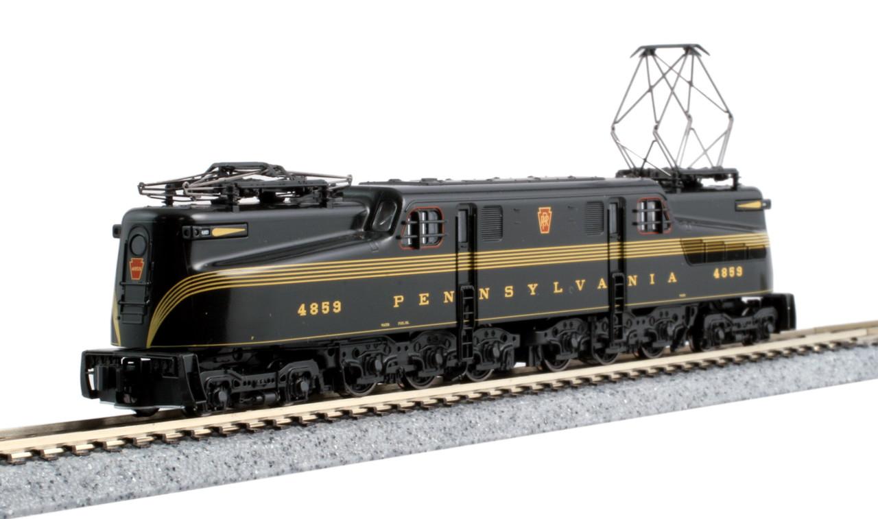 N GG-1 PRR #4859/grn 5-stripe/DCC
