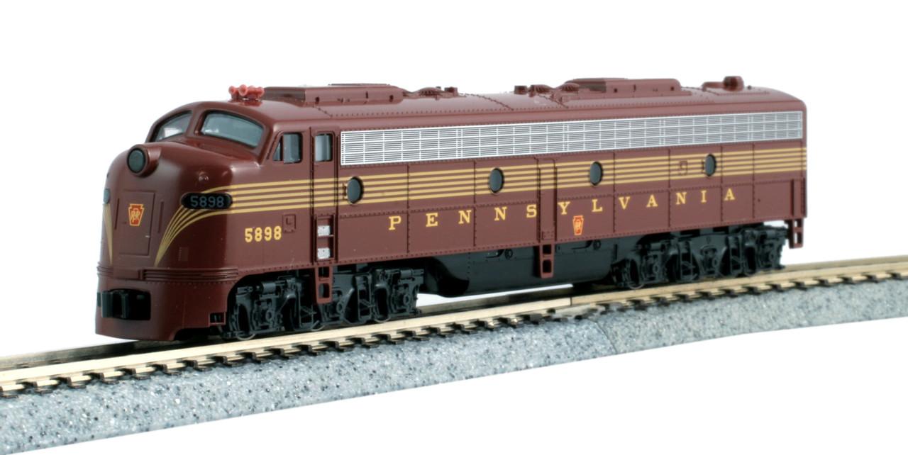 N E8A Diesel PRR #5898/Tuscan 5-Stripe/DCC