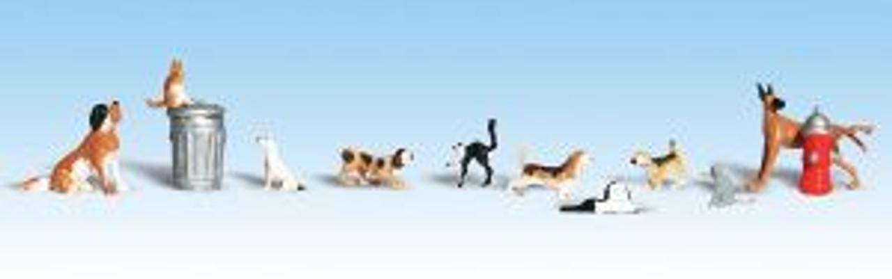A1841 Dogs & Cats HO