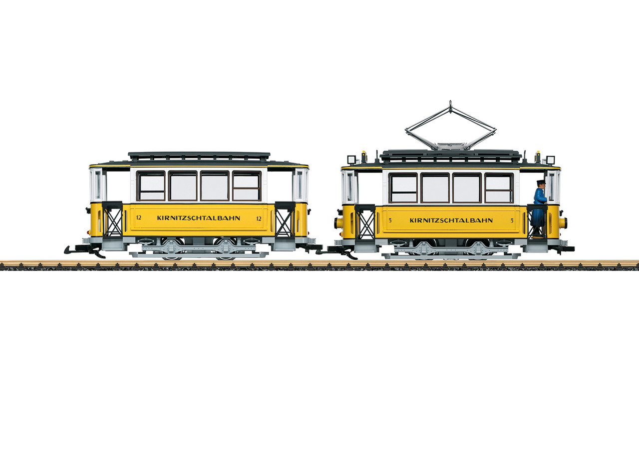 2020 LGB 23363 Dgtl Kirnitzschtalbahn Streetcar Train