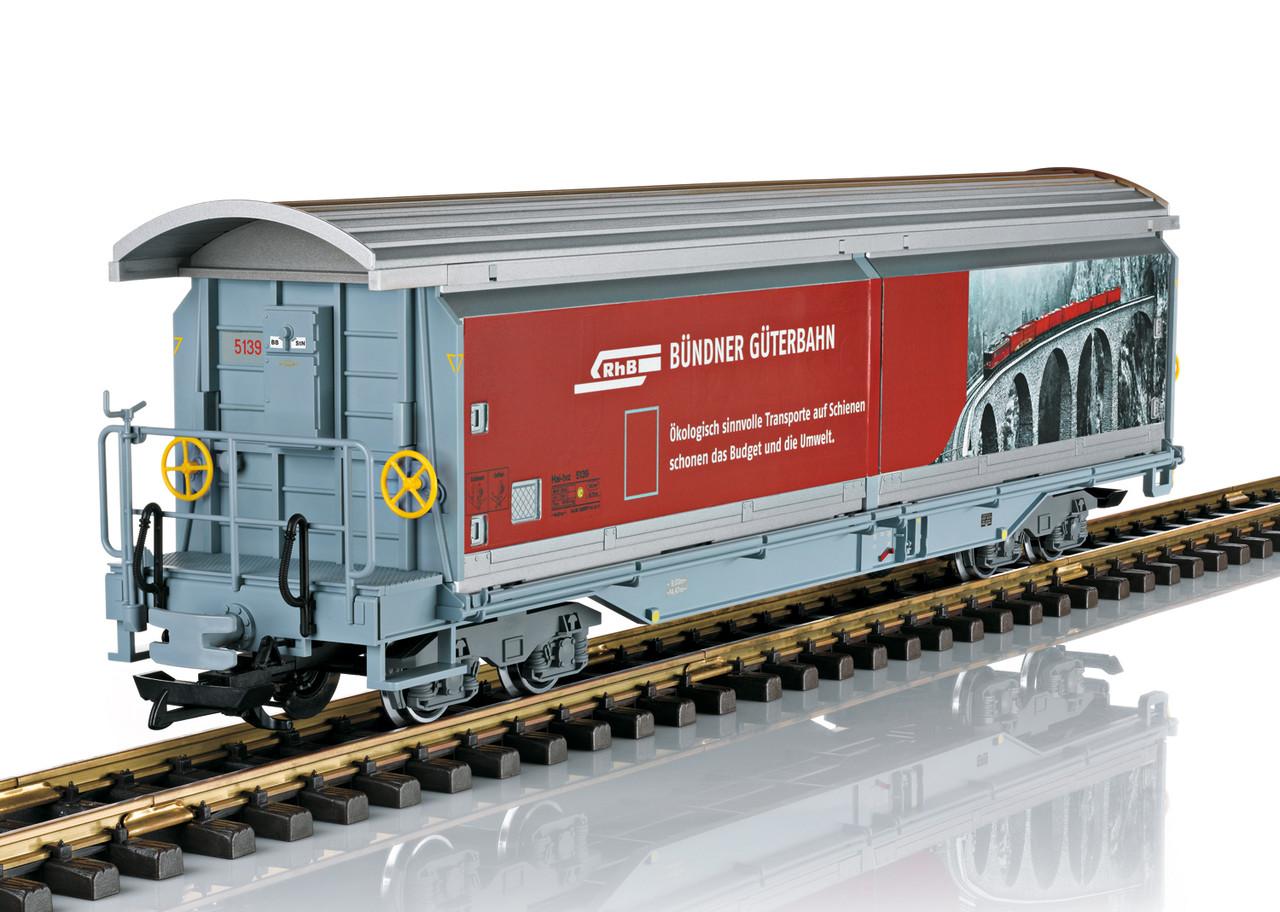 2020 LGB 48573 RhB Type Hai-tvz Sliding Wall Boxcar, Ep. VI