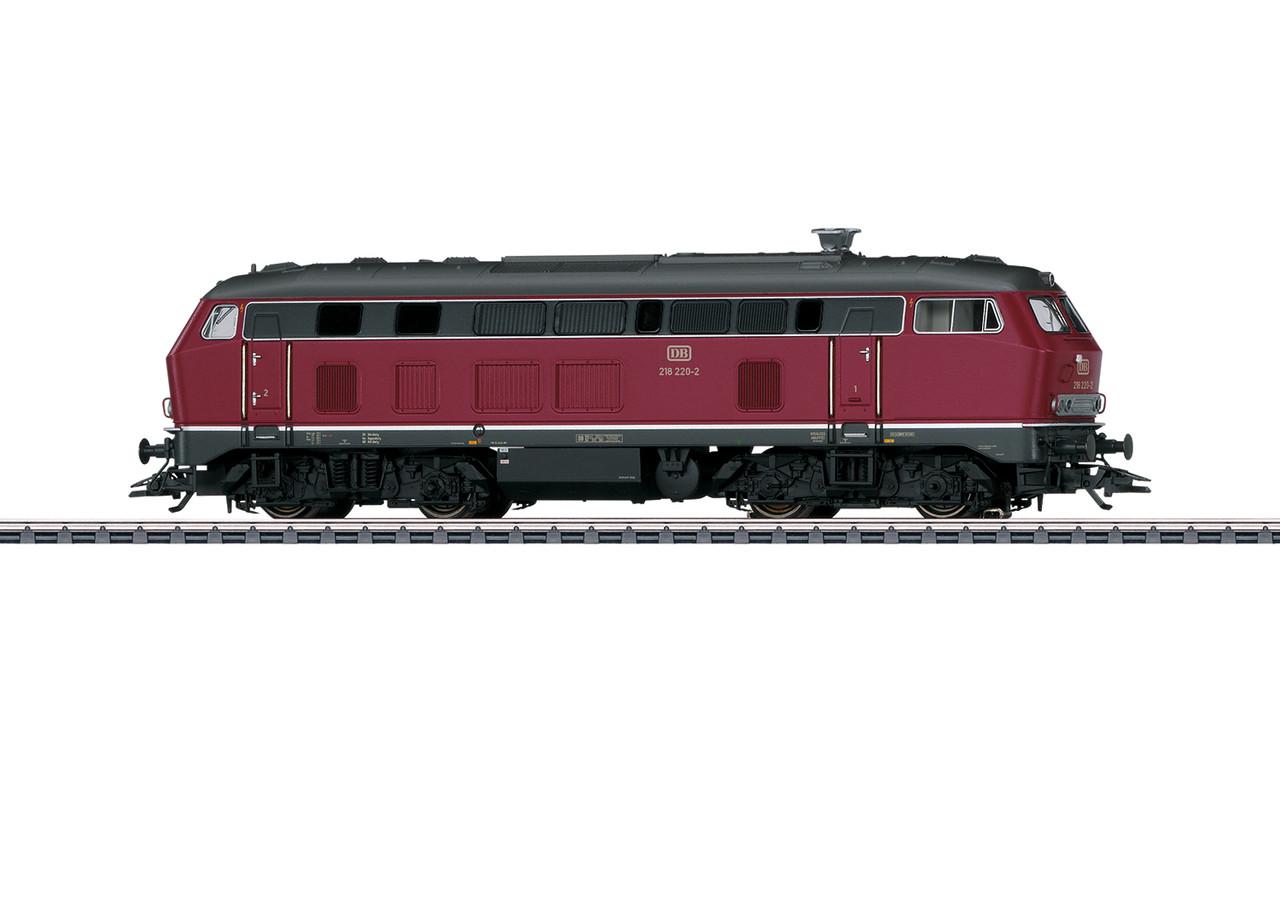 2020 Marklin 37765 Dgtl Diesel Locomotive BR 218 altrot, DB, Ep. IV