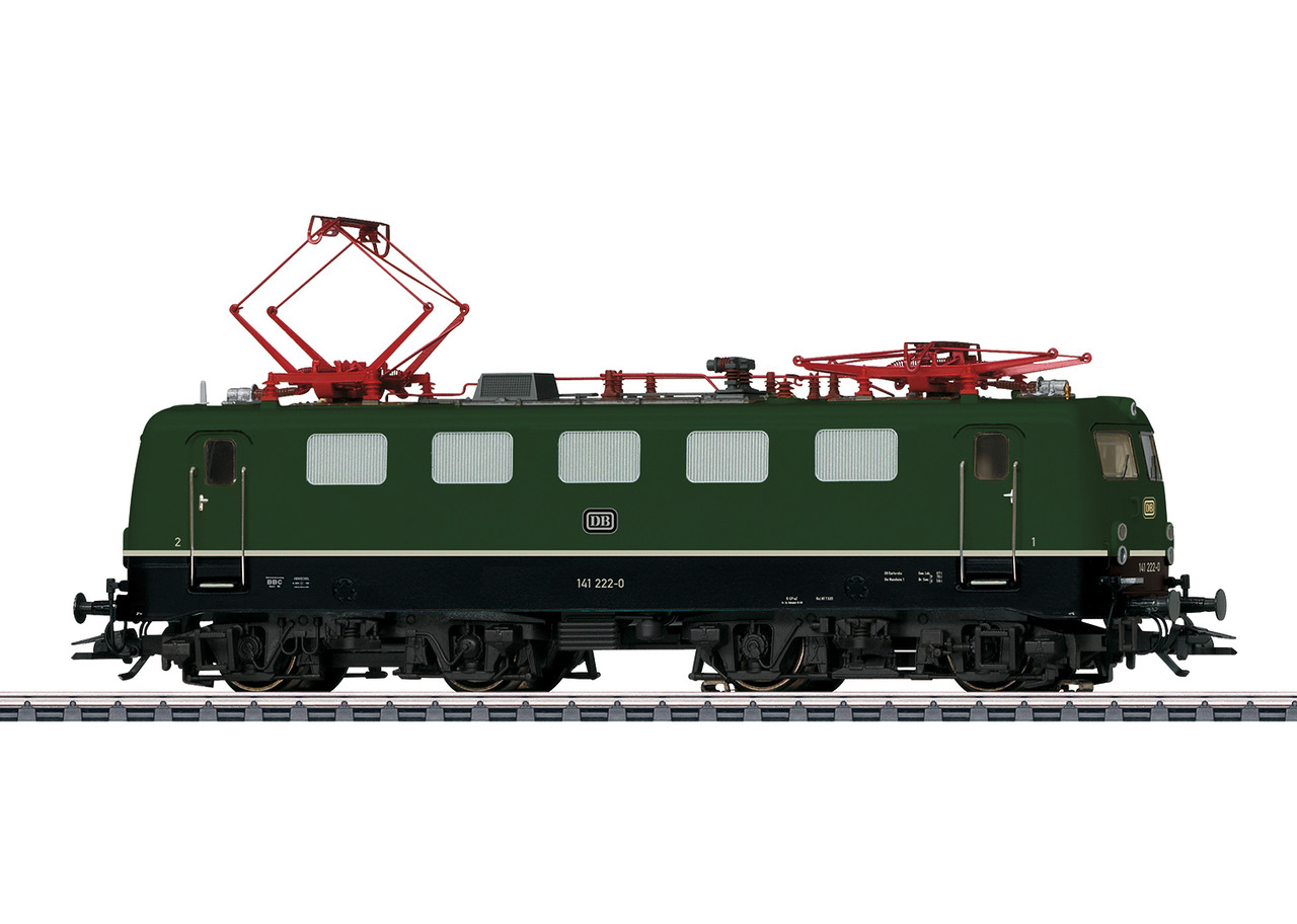 2020 Marklin 39470 Dgtl Electric Locomotive BR 141, grün, DB, Ep. IV