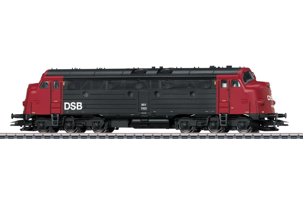 2020 Marklin 39685 Dgtl Diesel Locomotive MV, DSB, Ep. IV