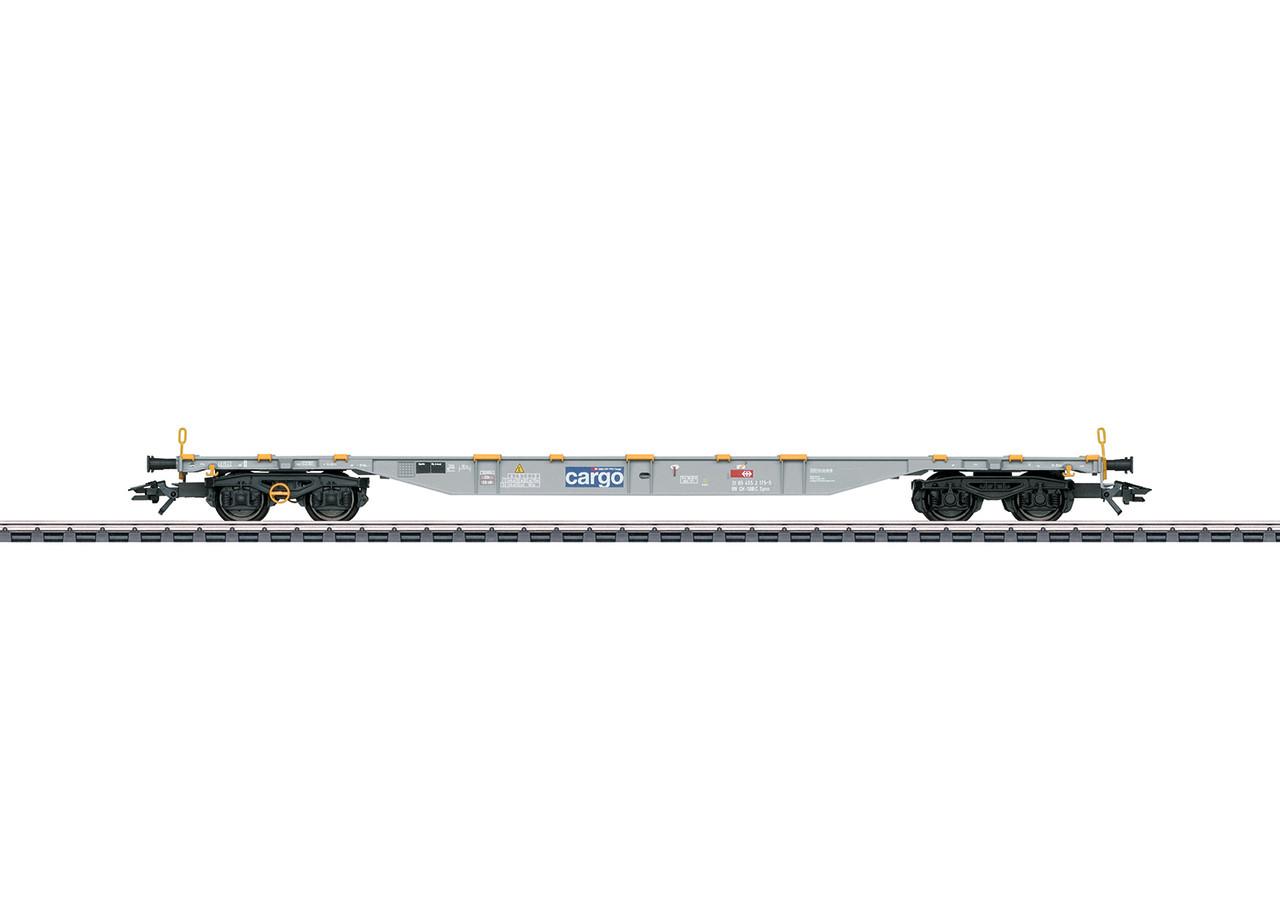 2020 Marklin 47106 Container-Tragwagen Sgnss, SBB Cargo, VI