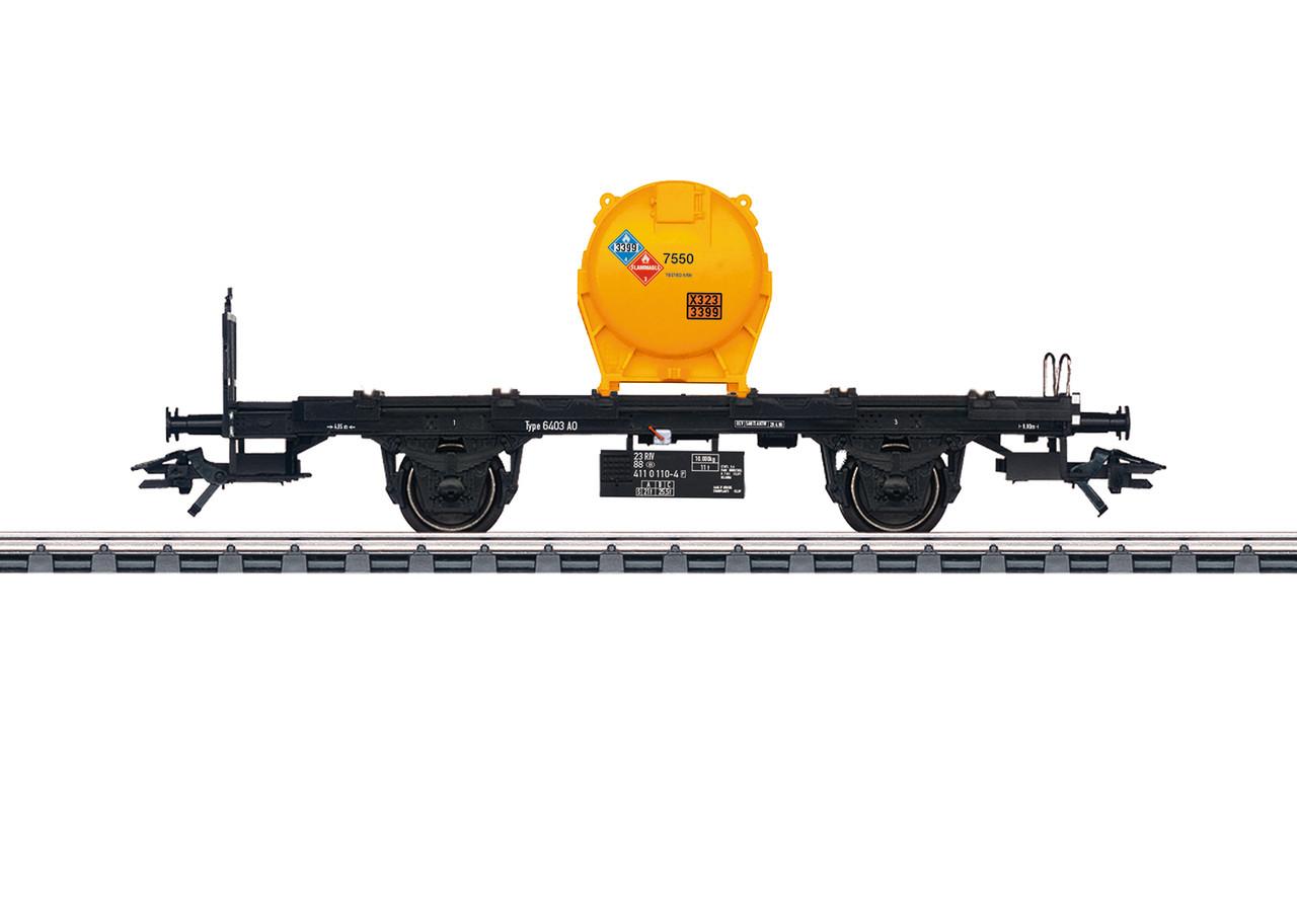 2020 Marklin 48953 Container Transport Car, BT55, SNCB, Ep. V