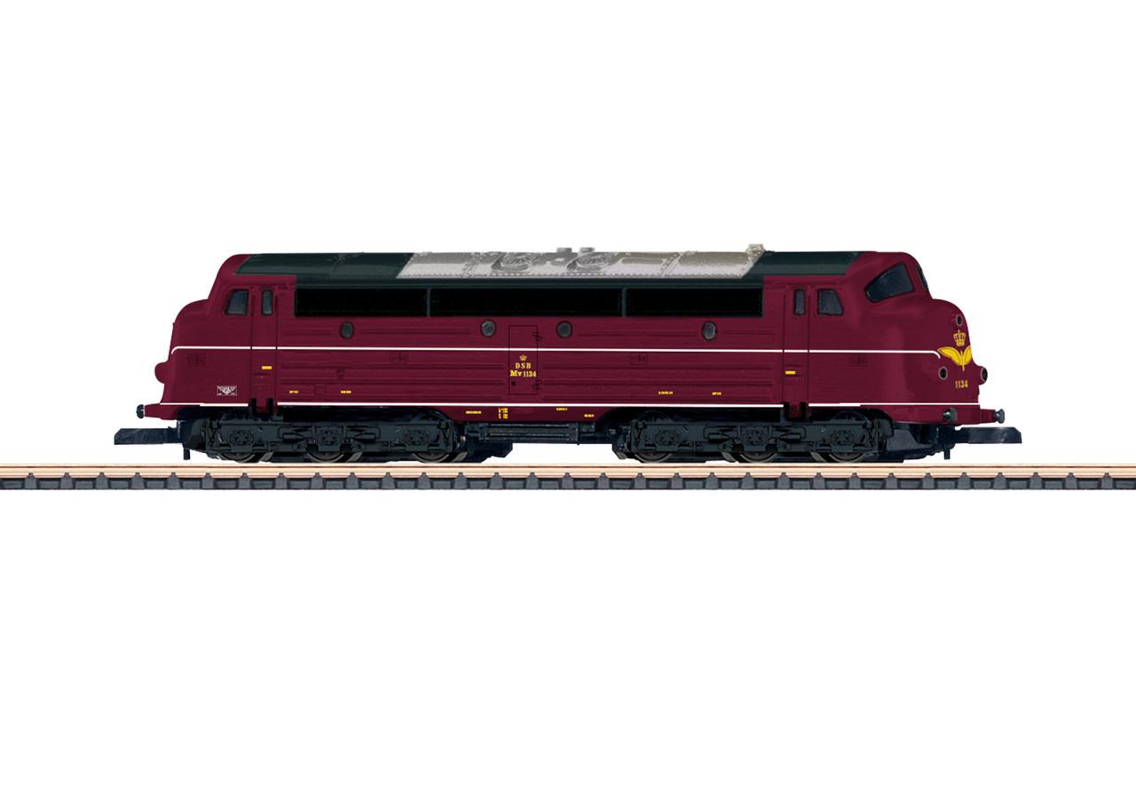 2020 Marklin 88637 Diesel Locomotive Reihe MV DSB EP. IV