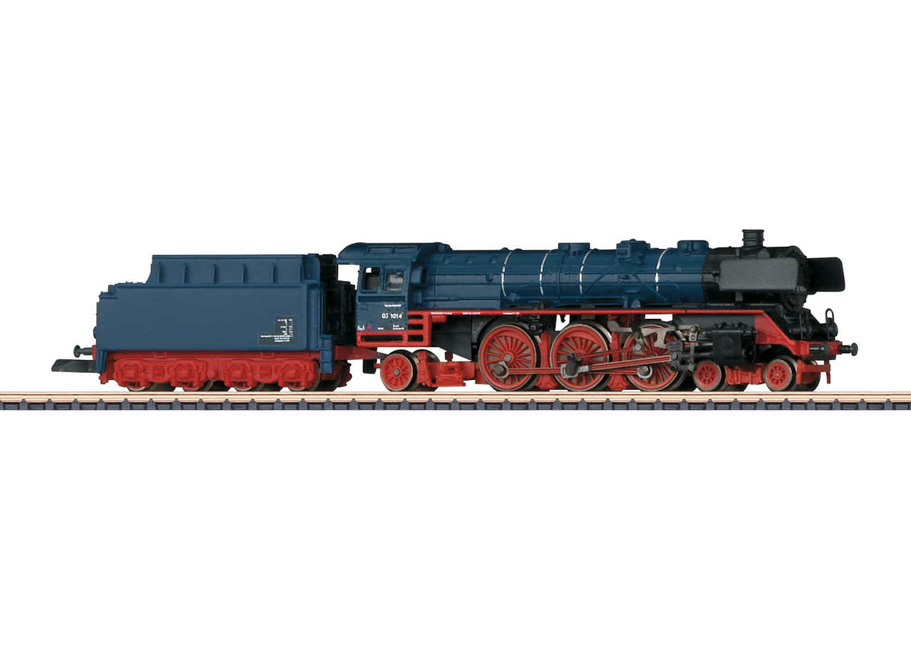 2020 Marklin 88856 Steam Locomotive BR 03.10 stahlblau DB