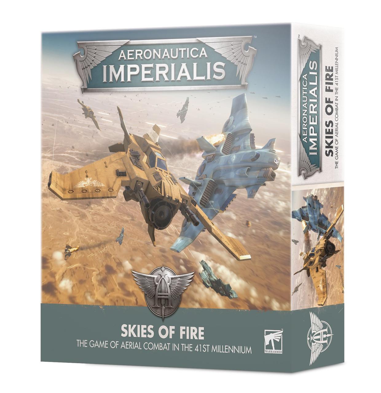AERO/IMPERIALIS: SKIES OF FIRE (ENGLISH)