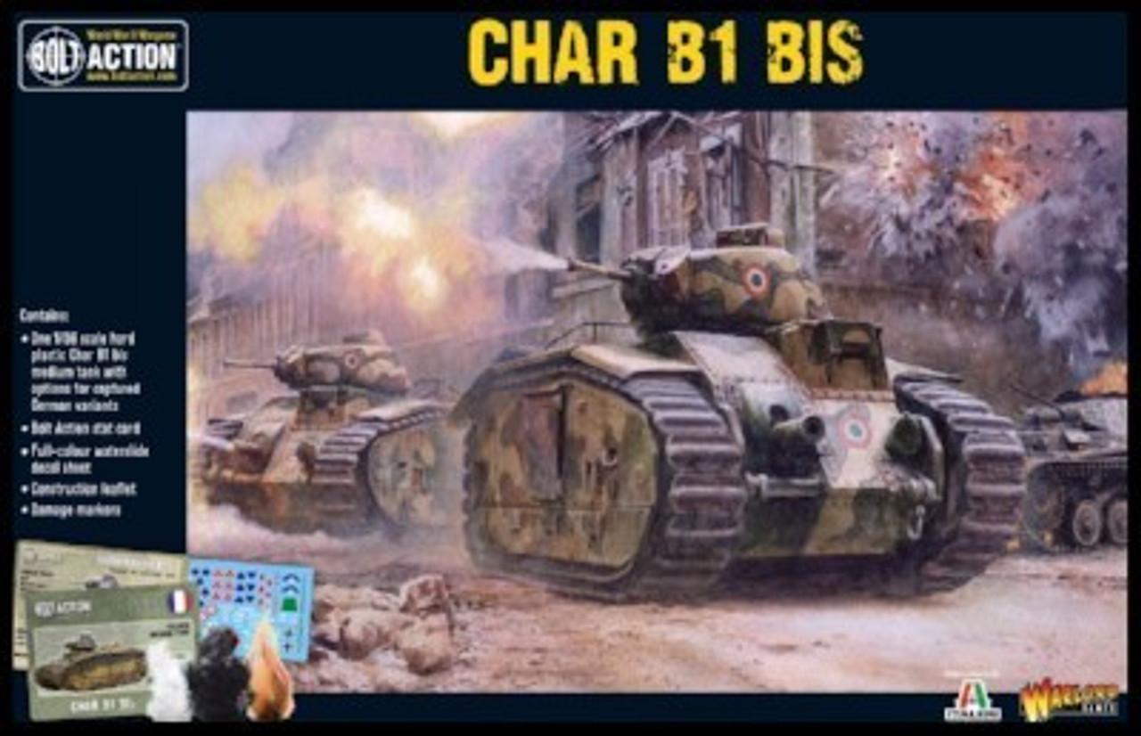 28mm Bolt Action: WWII Char B1bis French Medium Tank (Plastic)