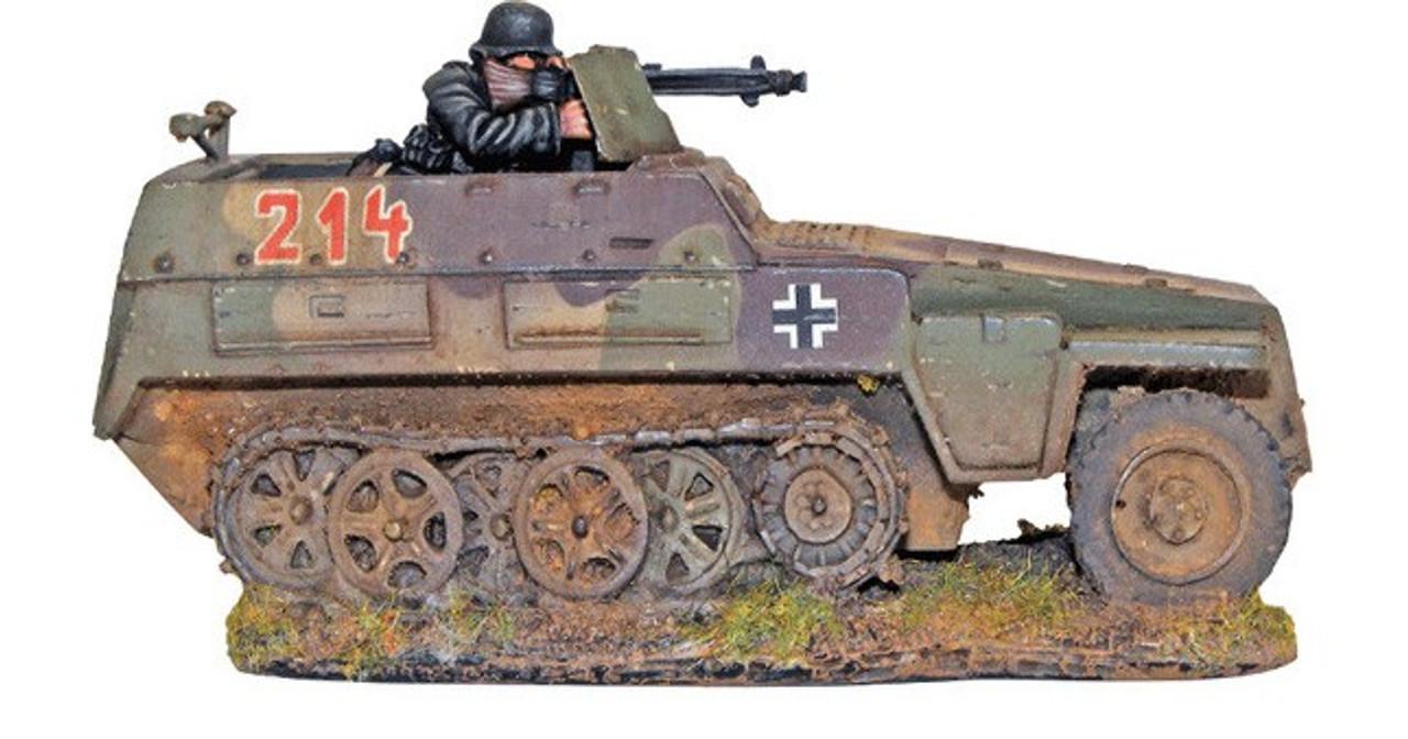 28mm Bolt Action: WWII SdKfz 250/1 Neu German Halftrack (Resin w/Metal Parts)