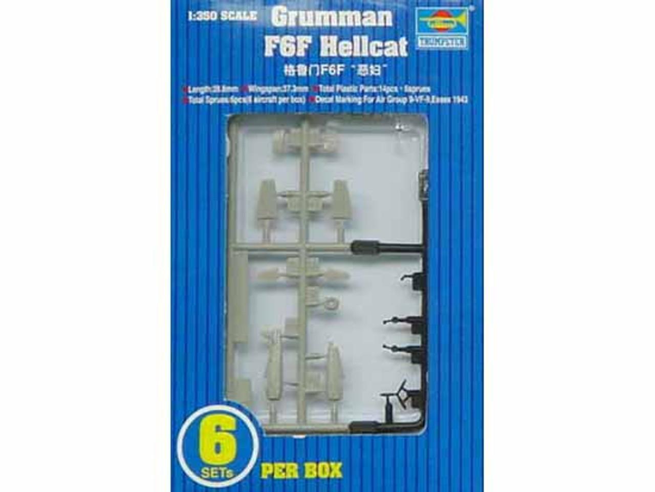 1/350 F6F Hellcat Aircraft Set for USS Essex