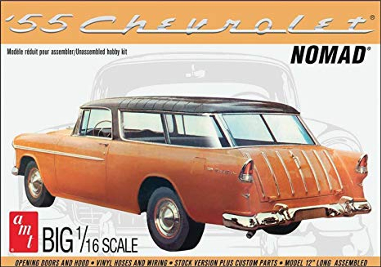 AMT1005  1/16 '55 Chevy Nomad Wagon