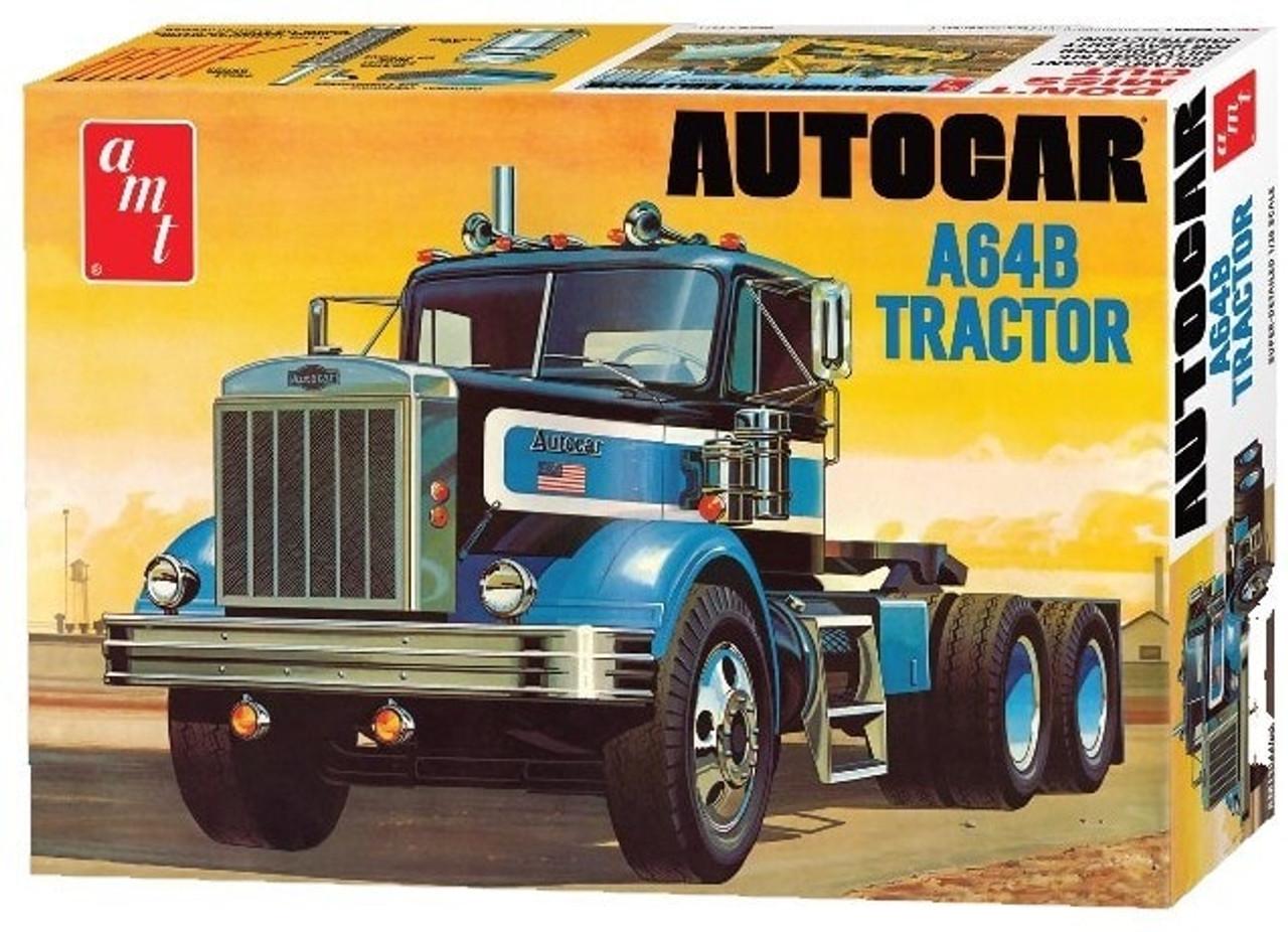 AMT1099  NYA 1/25 Autocar A64B Semi Trailer