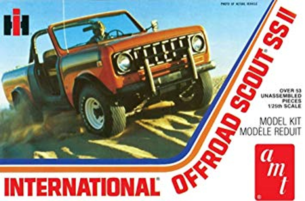 AMT1102  NYA 1/25 International Scout II