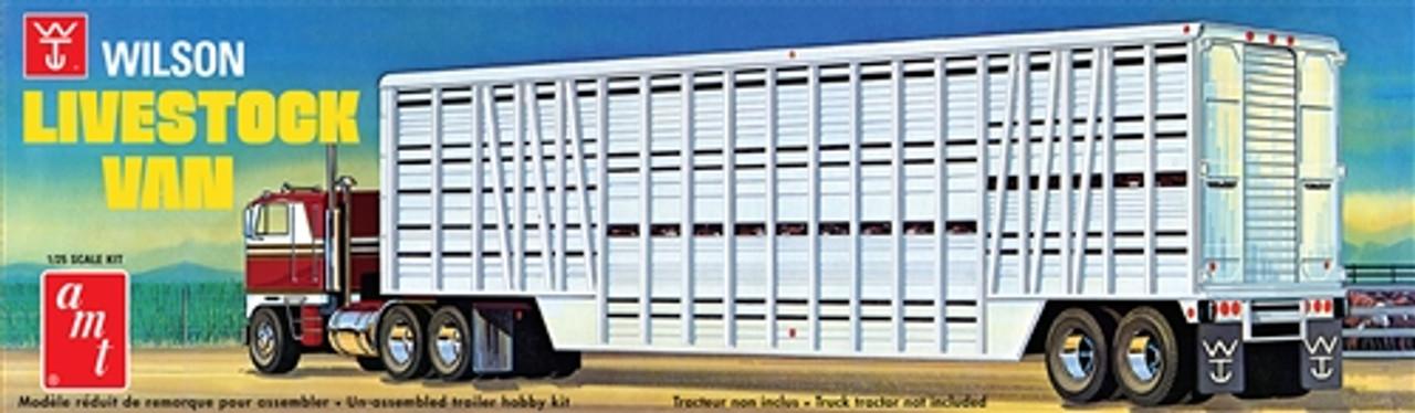 AMT1106  NYA 1/25 Wilson Livestock Van Trlr