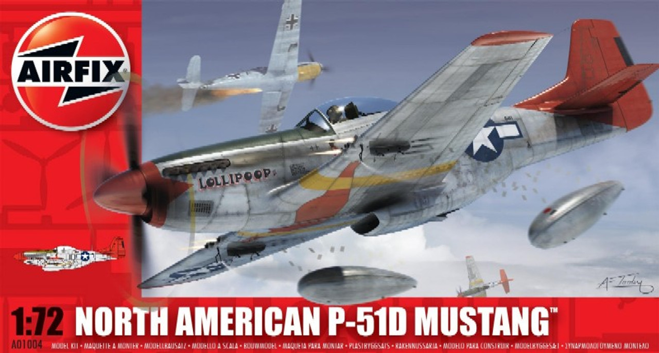 ARX-1004  1/72 P51D Mustang Fighter