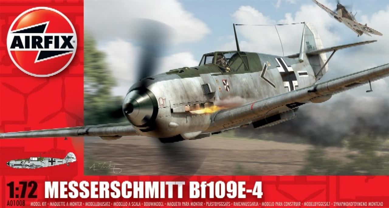 ARX-1008  1/72 Bf109E4 Fighter