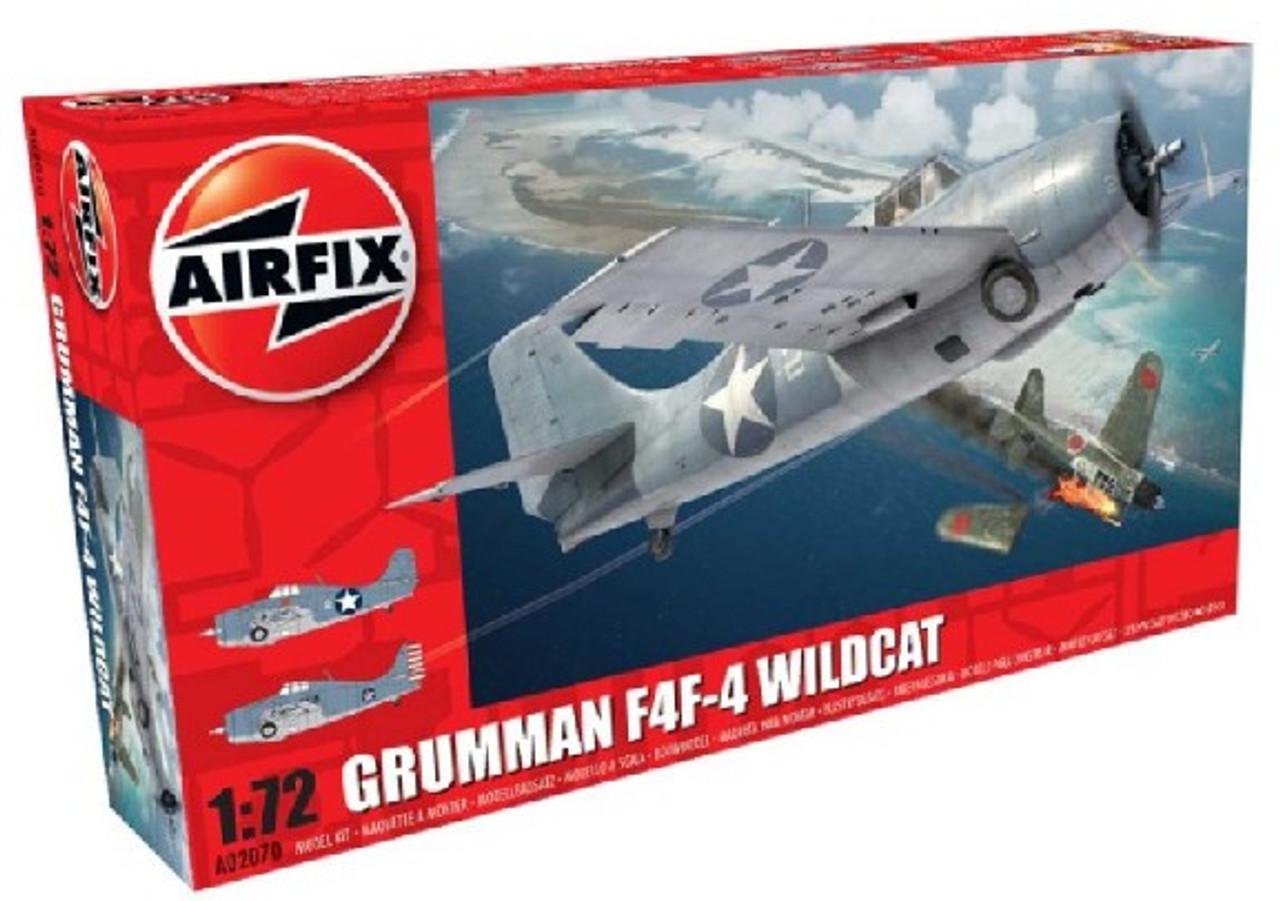 ARX-2070  1/72 F4F4 Wildcat Fighter