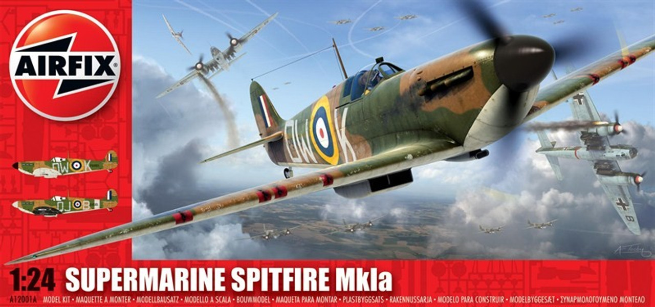 ARX-12001  1/24 Supermarine Spitfire Mk 1A Aircraft