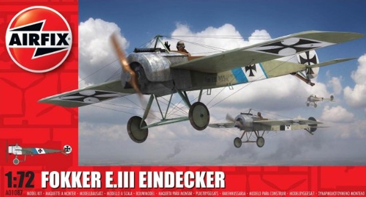 ARX-1087  1/72 Fokker E III Eindecker German Fighter