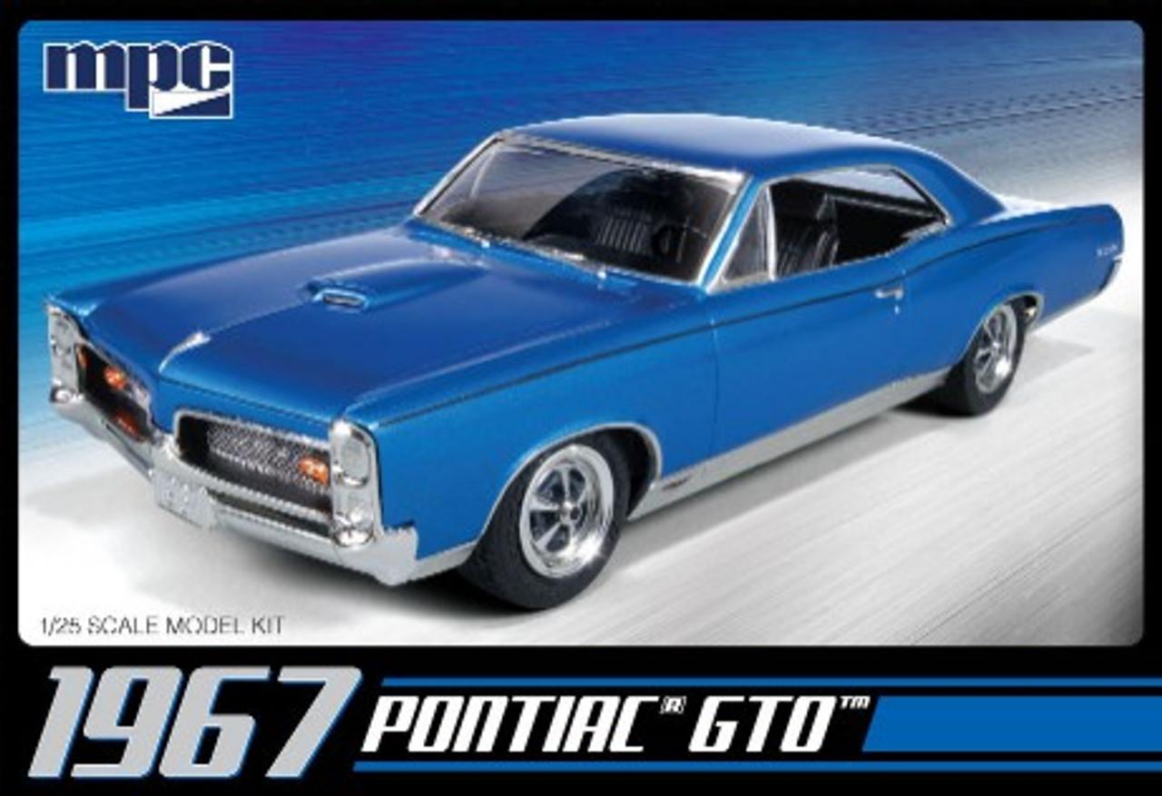 MPC-710  1/25 1967 Pontiac GTO