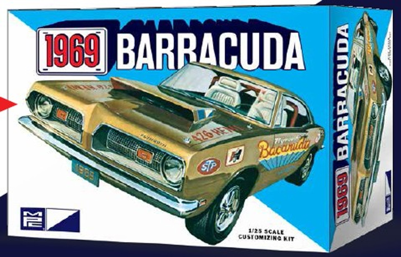 MPC-832  1/25 1969 Plymouth Barracuda