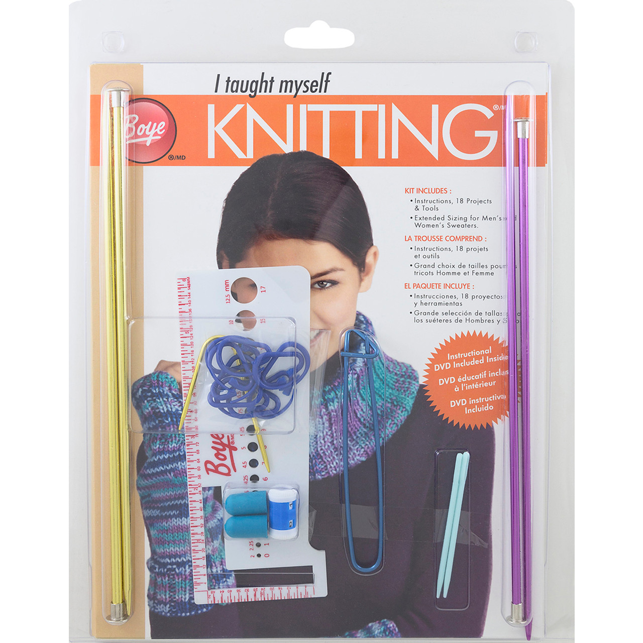 Boye 361642 I Taught Myself to Knit Pet Clothes