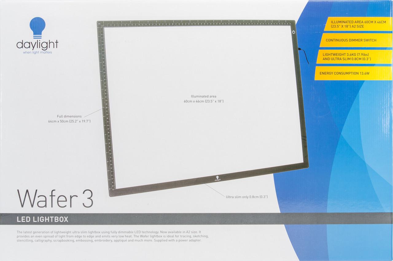 """U35020  Daylight Wafer 3 Light Box-18""""X23.5"""""""
