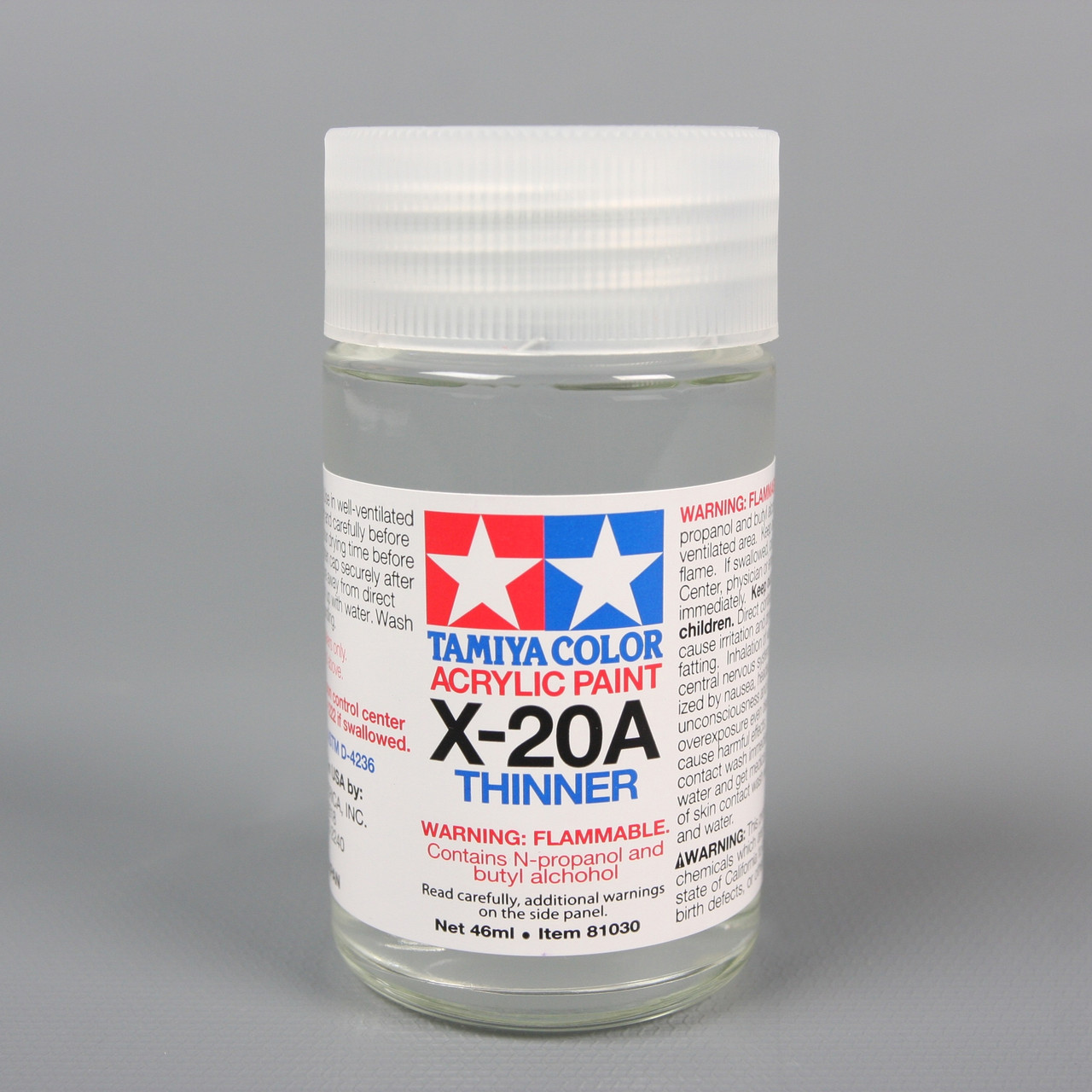 81030 Acrylic X20A Thinner 1.5 oz