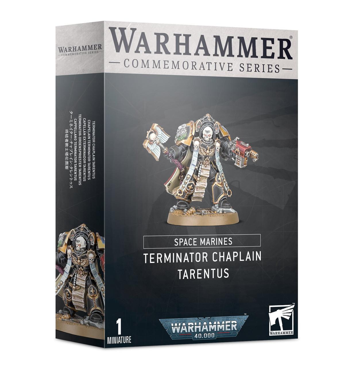 Warhammer Commemorative Series: Chaplain Tarentus