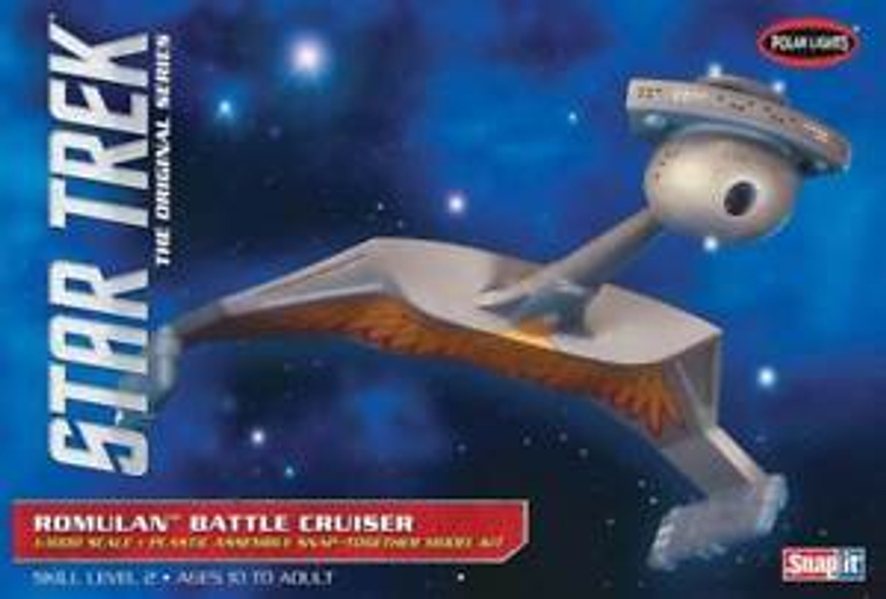 PLL897  Star Trek Romulan Battle Cruiser