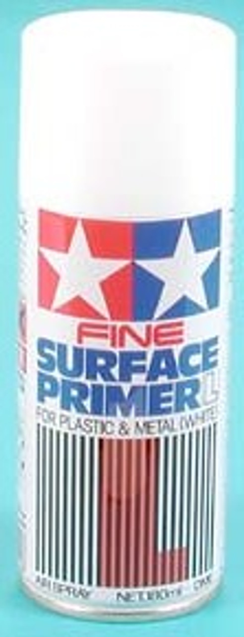 Large Fine Surface Primer White (180ml Spray)