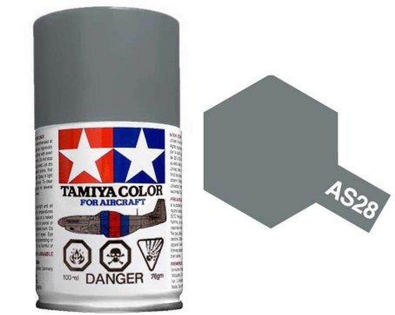 86528 AS-28 Spray Medium Gray 3 oz