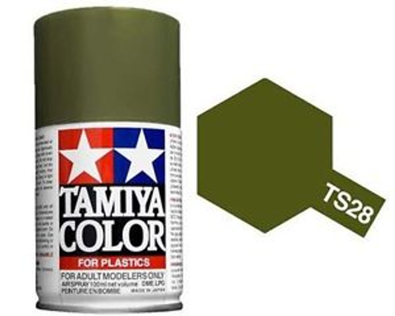 85028 Spray Lacquer TS28 Olive Drab 3 oz